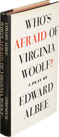 Books:Literature 1900-up, Edward Albee. Who's Afraid of Virginia Woolf? New York: Atheneum, 1962. First edition, association copy, inscr...
