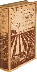 """Books:Literature 1900-up, Pearl S. Buck. The Good Earth. New York: The John DayCompany, [1931]. First edition, with """"The John Day Publishing ..."""