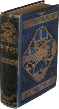 Jules Verne. Around the World in Eighty Days. London: Sampson Low, Marston, Low, & Searle, 1873