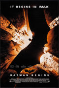 """Movie Posters:Action, Batman Begins (Warner Brothers, 2005). IMAX One Sheet (27"""" X 40""""). Action.. ..."""