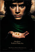 "Movie Posters:Fantasy, The Lord of the Rings: The Fellowship of the Ring (New Line, 2001). One Sheet (27"" X 40"") DS Teaser. Fantasy.. ..."