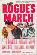 """Movie Posters:War, Rogue's March (MGM, 1953). One Sheet (27"""" X 41""""). War.. ..."""