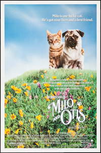 "The Adventures of Milo and Otis (Columbia, 1989). One Sheet (27"" X 41"") SS. Adventure"