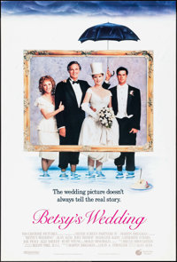 "Betsy's Wedding & Other Lot (Touchstone, 1990). One Sheets (2) (27"" X 41"", 27"" X 40"") DS. Co..."