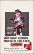"""Movie Posters:Western, Bandolero! & Other Lot (20th Century Fox, 1968). Overall: VeryFine-. Window Cards (2) (14"""" X 22""""), One Sheet (27"""" X 41""""), C...(Total: 8 Items)"""