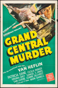 "Movie Posters:Mystery, Grand Central Murder (MGM, 1942). One Sheet (27"" X 41""). Mystery....."