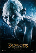 "Movie Posters:Fantasy, The Lord of the Rings: The Return of the King (New Line, 2003). OneSheet (26.75"" X 39.75"") DS Advance Gollum Style. Fantasy..."