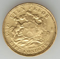 Chile, Chile: Republic gold 100 Pesos 1926-So VF - Polished, ContactMarks,...