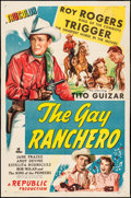 "Movie Posters:Western, The Gay Ranchero (Republic, 1948). One Sheet (27"" X 41""). Western.. ..."