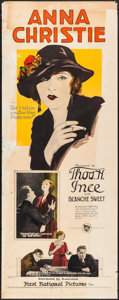 "Movie Posters:Drama, Anna Christie (First National, 1923). Insert (14"" X 36""). Drama....."