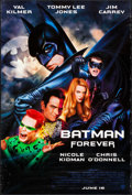 """Movie Posters:Action, Batman Forever (Warner Brothers, 1995). One Sheet (27"""" X 40"""") DSAdvance. Action.. ..."""
