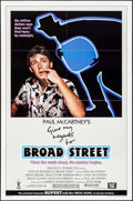 "Movie Posters:Rock and Roll, Give My Regards to Broad Street (20th Century Fox, 1984). OneSheets (2) (27"" X 41"") Styles A & B. Rock and Roll.. ...(Total: 2 Items)"