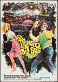 """Movie Posters:Science Fiction, The Time Machine (MGM, 1968). Spanish One Sheet (27"""" X 39"""").Science Fiction.. ..."""