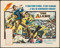 "Movie Posters:Western, The Alamo (United Artists, 1960). Half Sheet (22"" X 28""). Western.. ..."