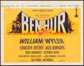 "Movie Posters:Academy Award Winners, Ben-Hur (MGM, 1960). Half Sheet (22"" X 28"") Style A. Academy AwardStyle.. ..."