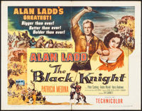 """The Black Knight & Other Lot (Columbia, 1954). Half Sheets (2) (22"""" X 28"""") Style B. Adventure. ... (To..."""