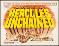 "Movie Posters:Action, Hercules Unchained & Other Lot (Warner Brothers, 1959). HalfSheets (2) (22"" X 28""). Action.. ... (Total: 2 Items)"