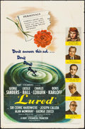 "Movie Posters:Mystery, Lured (United Artists, 1947). One Sheet (27"" X 41""). Mystery.. ..."