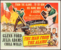 """Movie Posters:Western, The Man from the Alamo (Universal International, 1953). Folded, Fine+. Trimmed Half Sheet (21.75"""" X 27""""). Western.. ..."""