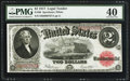 Large Size:Legal Tender Notes, Fr. 60 $2 1917 Legal Tender PMG Extremely Fine 40.. ...