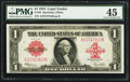 Large Size:Legal Tender Notes, Fr. 40 $1 1923 Legal Tender PMG Choice Extremely Fine 45.