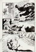 Original Comic Art:Panel Pages, Arthur Suydam The New Adventures of Cholly and Flytrap: TillDeath Do Us Part #1 Story Page 12 Original Art (Marve...