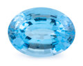 Gems:Faceted, Gemstone: Blue Topaz - 20.07 Cts.. Brazil. 14.14 x 18.70 x 9.81mm. ...