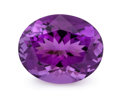 Gems:Faceted, Gemstone: Amethyst - 6.28 Cts.. Rwanda. 11.03 x 13.59 x 8.11mm. ...