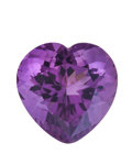 Gems:Faceted, Gemstone: Amethyst - 14.07 Cts.. Rwanda. 15.91 x 16.13 x 11.14mm. ...