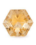 Gems:Faceted, Gemstone: Citrine - 13.04 Cts.. Brazil. 13.83 x 15.84 x 11.90mm. ...