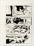 Original Comic Art:Panel Pages, Neal Adams and Dick Giordano Batman: Stacked Cards [Book and RecordSet] #PR27 Splash Page 14 Original Art (Peter Pan, 1975)....