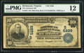 National Bank Notes:Virginia, Richmond, VA - $10 1902 Plain Back Fr. 632 The American NB Ch. #(S)5229. ...