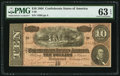 Confederate Notes:1864 Issues, T68 $10 1864 PF-42 Cr. 551. ...