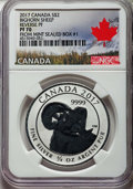 "Canada: Elizabeth II Proof ""Bighorn Sheep"" 2 Dollars 2017 PR70 NGC"