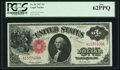 Large Size:Legal Tender Notes, Fr. 36 $1 1917 Legal Tender PCGS New 62PPQ....