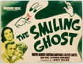 Memorabilia:Movie-Related, The Smiling Ghost Title Lobby Card (Warner Brothers,1941)....