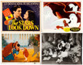 Memorabilia:Movie-Related, Lobby Card Group of 10 (Various Publishers, 1940s-50s).... (Total:10 Items)