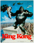 Memorabilia:Movie-Related, King Kong Movie Premiere Program Sheets Group of 3(Paramount/Dino De Laurentis, 1976).... (Total: 3 Items)