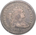 Early Dollars, 1797 $1 9x7 Stars, Large Letters, B-1, BB-73, R.3, VF35 PCGS....
