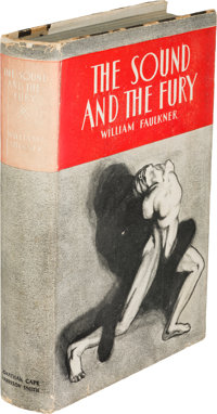 William Faulkner. The Sound and the Fury. New York: Jonathan Cape and Harrison Smith, [1929]. F