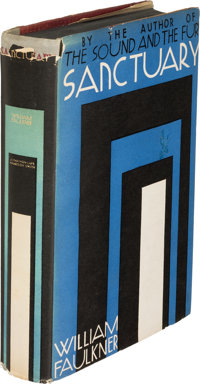 William Faulkner. Sanctuary. New York: Jonathan Cape & Harrison Smith, [1931]. First edition, <