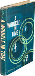 Books:Science Fiction & Fantasy, Madeleine L'Engle. A Wrinkle in Time. [New York]: Ariel Books-Farrar, Straus and Cudahy, [1962]. First edition....