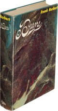 Books:Science Fiction & Fantasy, Frank Herbert. Dune. Philadelphia and New York: Chilton Books, [1965]. First edition, signed by the author on th...