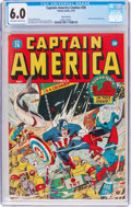 Golden Age (1938-1955):Superhero, Captain America Comics #26 San Francisco Pedigree (Timely, 1943) CGC FN 6.0 Off-white to white pages....