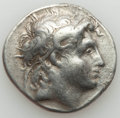 Ancients:Greek, Ancients: THRACIAN KINGDOM. Lysimachus (305-281 BC). AR tetradrachm(16.77 gm). About VF....