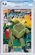 Modern Age (1980-Present):Superhero, G. I. Joe, A Real American Hero #144 (Marvel, 1994) CGC NM+ 9.6White pages....