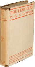 Books:Literature 1900-up, D. H. Lawrence. The Lost Girl. London: Martin Secker,[1920]. First edition, first state, with the leaves containing...