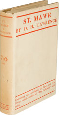 Books:Literature 1900-up, D. H. Lawrence. St. Mawr. London: Martin Secker, [1925]. First edition, first state of the text with the contents in...