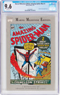 Modern Age (1980-Present):Superhero, Marvel Milestone Edition: Amazing Spider-Man #1 (Marvel, 1993) CGCNM+ 9.6 White pages....