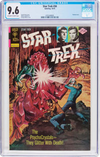 Star Trek #34 (Gold Key, 1975) CGC NM+ 9.6 Off-white to white pages